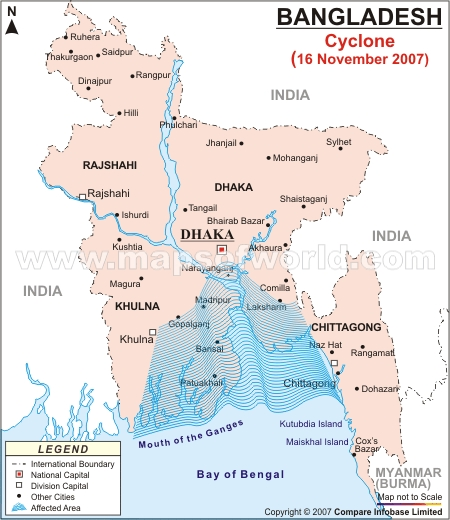 Cyclone Affected Areas